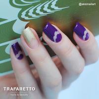 Трафарет для дизайна ногтей Trafaretto. Френч и лунки. Грация