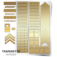 Трафарет для дизайна ногтей Trafaretto. Ацтеки и майя