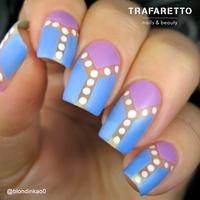 Трафарет для дизайна ногтей Trafaretto. Геометрия. Квадраты