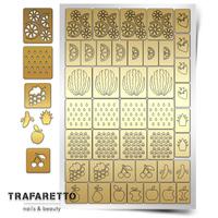 Трафарет для дизайна ногтей PrimaNails. Фруктовый сад