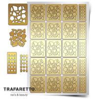 Трафарет для дизайна ногтей PrimaNails. Мозаика